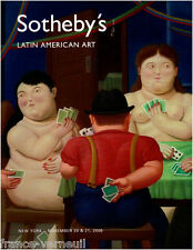 Catalogue Sotheby's Art d'Amerique Latine Latin American 20 & 21 November 2006