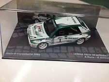 IXO 1:43 LANCIA DELTA HF INTEGRALE CIOCCHETTO 1993 FIORIO- RALLY MODEL CAR SCALE