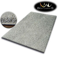 CHEAP SOFT RUGS SHAGGY 5cm GREY HIGH QUALITY nice in touch CARPETS MANY SIZE