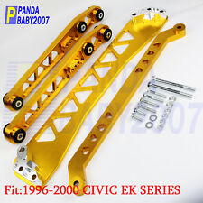 FOR 96-00 CIVIC EK RACING REAR LOWER CONTROL ARM SUBFRAME BRACE TIE BAR LCA DX G