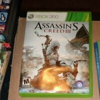 Assassin's Creed III - Video Game - VERY GOOD SEE PICS