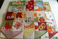 """THANKSGIVING/FALL  TABLE RUNNER ASSORTMENT #2  13"""" X 72"""" {Your choice}"""