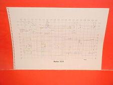 1963 VOLVO 122S HILLMAN MINX CONVERTIBLE COUPE SEDAN WAGON FRAME DIMENSION CHART