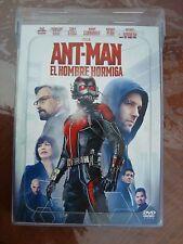ANT-MAN ANT MAN DVD region 1&4 MEXICAN EDITION ENGLISH/ESPAÑOL BRAND NEW RUDD