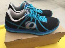 Pearl Izumi N1 V2 Road Men's Running Shoe Rare New Black Blue EM ROAD N1v2-M