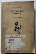 The Road Past Mandalay John Masters Rare 1961 Proof Copy Book