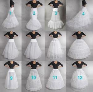 RULTA Wedding Petticoat Slip Crinoline Underskirt Bridal Dress Hoop Hoopless O1