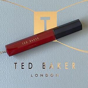 TED BAKER Raspberry Red Lip Gloss 10ml ~ Fresh NEW Stock ~ Lipstick Colour