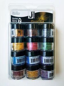 Jacquard Pearl Ex Mica Metallic Powder Pigment Series 2 set of 12 x 3 g