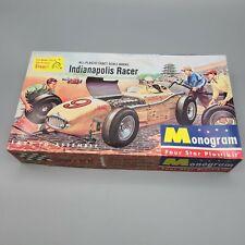Monogram Kurtis Kraft Indianapolis Racer P12 98 Model Kit 1996 Issue Open Box