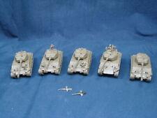 5 Flames Of War 76mm Sherman Tanks Usa M4 Platoon