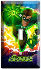 Green Lantern Super Hero Earth Guardian Ring Single Light Switch Wallplate Cover