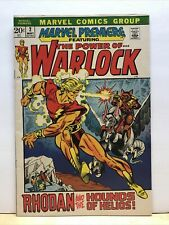 Marvel Premiere #2 May 1972 Adam Warlock First Appearance VF+ 8.5