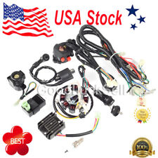 Complete Electrics Wiring Harness Wire Loom ATV QUAD 150/200/250CC Stator CDI US