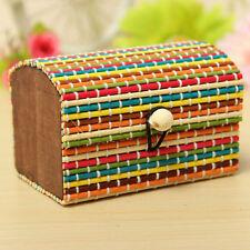 Buy 1 Get 1 Free Bamboo Wooden Jewelry Storage Box Marriage Birthday Gift Box