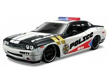DODGE CHALLENGER POLICE 1:24 Car Metal Model Die Cast Models Diecast