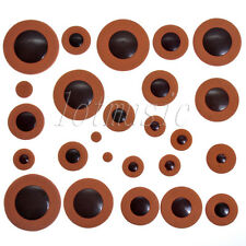 28pcs Orange Soprano Saxophone Leather Pads Woodwind for Yamaha size replacement