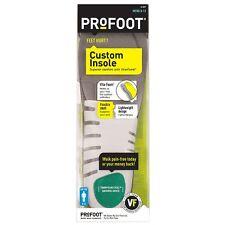 ProFoot Custom Insole with Vita-Foam, Men's 8-13 1 Pair (Pack of 2)