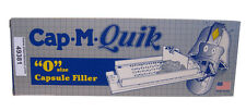 "CAP-M-QUIK Kit SIZE ""0 Filler Cap-M-Quick Capsule Filling Machine & Packing Card"