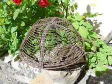 Ancien panier à salade essoreuse en fils de fer belle forme