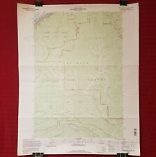 USGS 1994 Topographic Map TANNER BUTTE, OREGON-WASHINGTON Quadrangle 1:24000