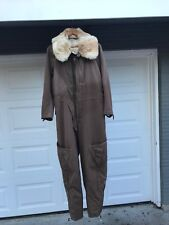 WW2 Imperial Japanese Winter Flight Suit Rabbit Fur Lining Rare VTG World War II