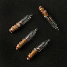 Dolls House Lighting:  Pack of 4 12v  Flame Bulbs