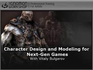 lot DVD Gnomon formation 3D Corel Adobe Photoshop 3DS Max ZBrush Wacom Games