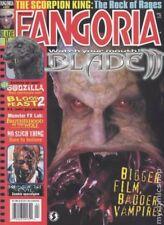 FANGORIA 211 - BLADE II, RESIDENT EVIL, SCORPION KING, BLOOD FEAST 2