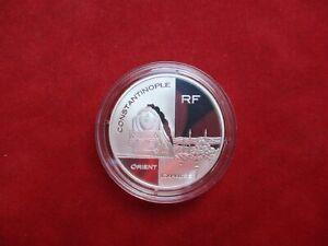 Frankreich 1,5 Euro von 2003 Eisenbahn Train Orient Express Silber Ag PP proof