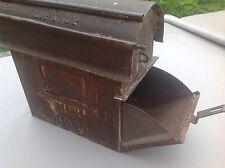 Antique Scheble Lamp Post Mailbox U.S.M.  Rare 1800's