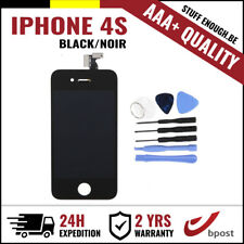 AAA+ LCD TOUCH SCREEN VITRE DISPLAY/SCHERM/ECRAN BLACK NOIR &TOOLS FOR IPHONE 4S