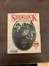 apple ii Sherlock The Riddle Of The Crown Jewels Computer Game ALMOST complete