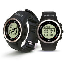 NEW Golf Buddy WT6 Golf GPS Watch Range Finder $150 Retail 38,000 Courses Black