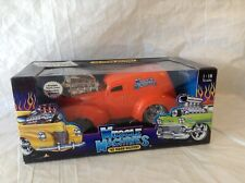 Muscle Machines 1:18 Die Cast ~ 1949 SEDAN DELIVERY ~ ORANGE Funline '02