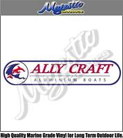 ALLYCRAFT - DECAL - 350mm x 80mm - BOAT DECAL