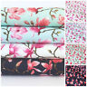MOMO Japanese floral 100 % cotton dressmaking Fabric 112cm Wide PER 1/2 metre/FQ