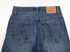 Boy's 514 LEVI'S Straight Size 16 Reg 28x28 Blue Jeans Actual 27x27