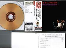 DUKE ELLINGTON & JOHN COLTRANE JAPAN Mini-LP 24k GOLD CD UCCU-9550 w/OBI+BOOKLET