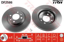 Bremsscheibe (2 Stück) - TRW DF2586