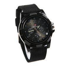 861ce715b9d3 Reloj de hombre deportivo correa tela del piloto de Negro U9K3