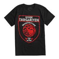 Game Of Thrones TARGARYEN DRAGON SHIELD T-Shirt NWT Licensed & Official
