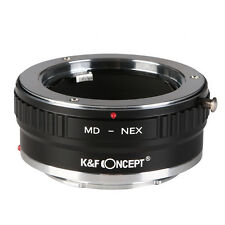 K&F Concept MD-Sony E Copper Adapter Ring for MD Lens to Sony E-mount Camera