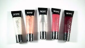 NYC New York Color KISS-Gloss Lip Gloss Genuine Sealed Choose Your color