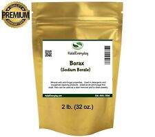 Borax Powder (sodium tetraborate) - 100% Pure Multi-Purpose Cleaner 2 Lb. Bag