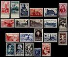 L'ANNÉE 1947 Complète, Neufs * = Cote 21 € / Lot Timbres France n°772 à 792