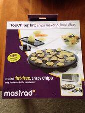 Mastrad TopChips Kit NIB Chips Maker Food Slicer Potato