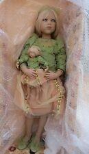 "Annette Himstedts 2001 Puppen Kinder ""Himmelschusselchen w/coa/box/shipper-Sale!"