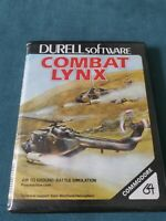 COMMODORE 64 C64 COMBAT LYNX BIG BOX VINTAGE COMPUTER WAR GAME DURELL SOFTWARE