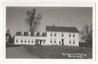 RPPC Marlboro College Dormitory VT Vintage Vermont Real Photo Postcard 2